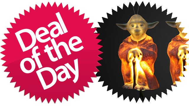 This Yoda Star Wars Xmas Light Set Is Your Jedi-Ready Deal of the Day