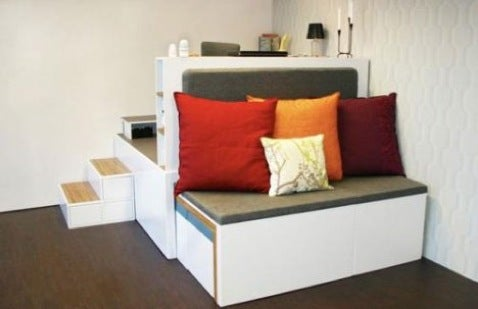 Matroshka Living Concept: 43 Square Feet of Furniture is All You Need