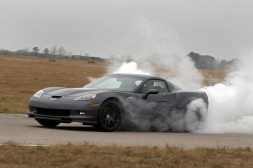 Hennessey Corvette ZR1: World's Quickest Blue Devil