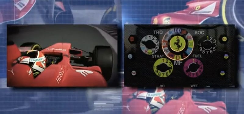 An F1 Steering Wheel Has To Be The World's Most Complex Input Device