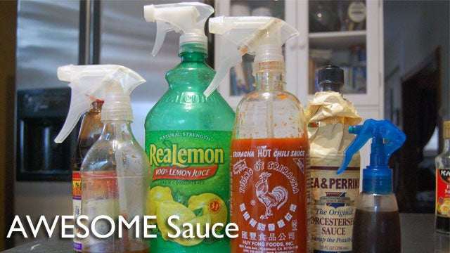 Make Your Sauces, Oils, and Dressings Totally Awesome—with Spray Bottles