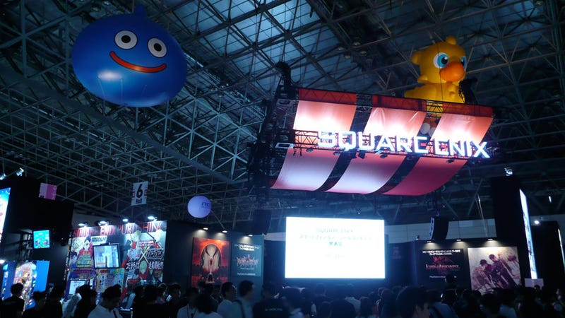 Square Enix's Tokyo Game Show Booth Is...Look Out, Giant Chocobo!