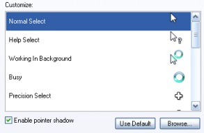 Use Vista cursors in XP