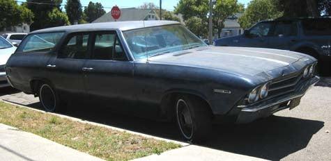 1969 Chevrolet Nomad