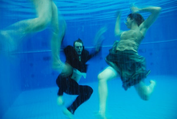 The leading man plays a killer whale in Berlin's underwater opera