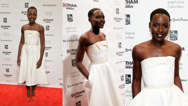 Lupita Nyong'o Is Walking in a Winter Wonderland