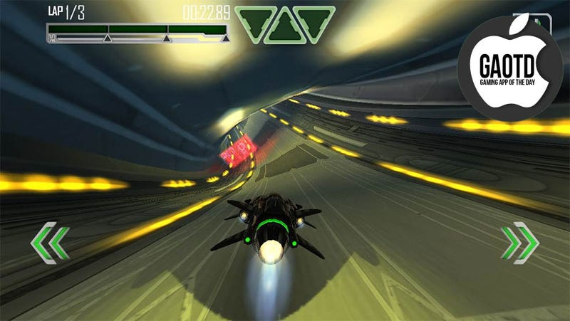 Almost the Wipeout-Style Futuristic Hovercar Racer the iPhone Has Been Waiting For