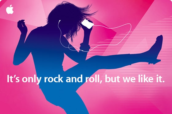 "Apple ""It's Only Rock and Roll"" iPod Event September 9"
