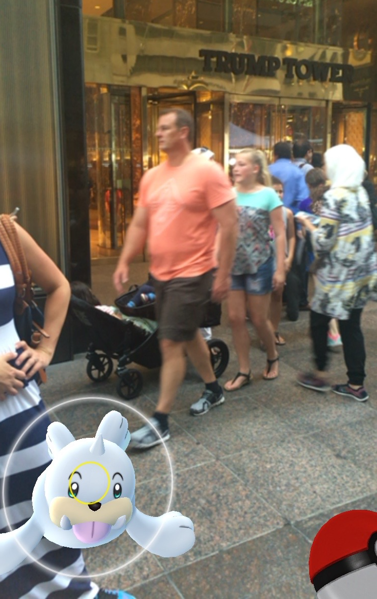 My Quest To Find Pokémon Trainers At Trump Tower