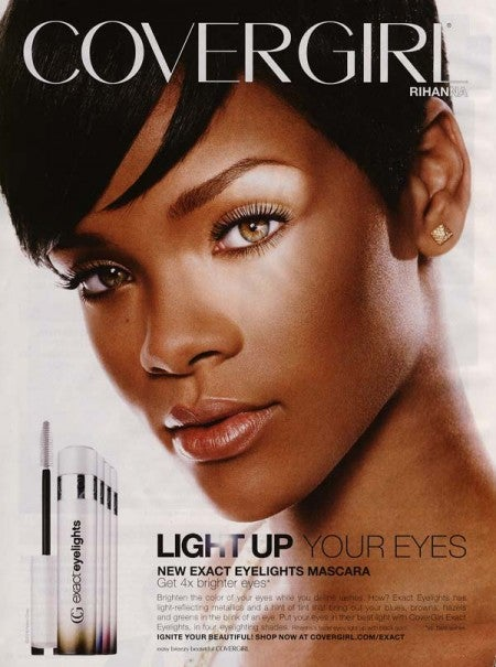 Of Course They Had to Run the Rihanna 'Eyes' Ad This Week