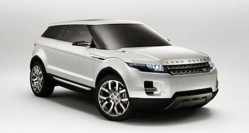 Land Rover To Produce LRX Concept