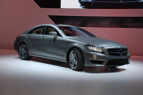 AMG Sturms Back With 550-HP CLS63 AMG
