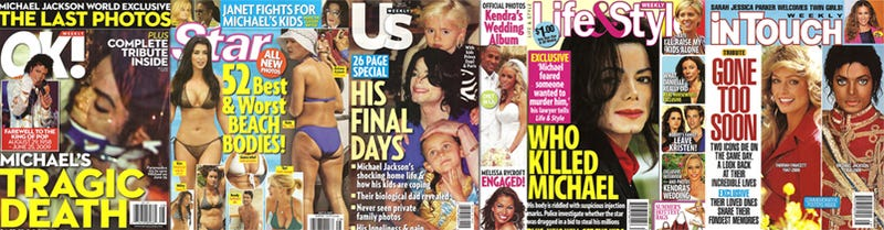 This Week In Tabloids: Dead Bodies, Beach Bodies, Weddings & Monkeys