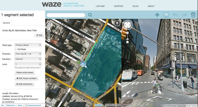 Google Maps Adds Incident Reports from Waze, Waze Gets Better Search