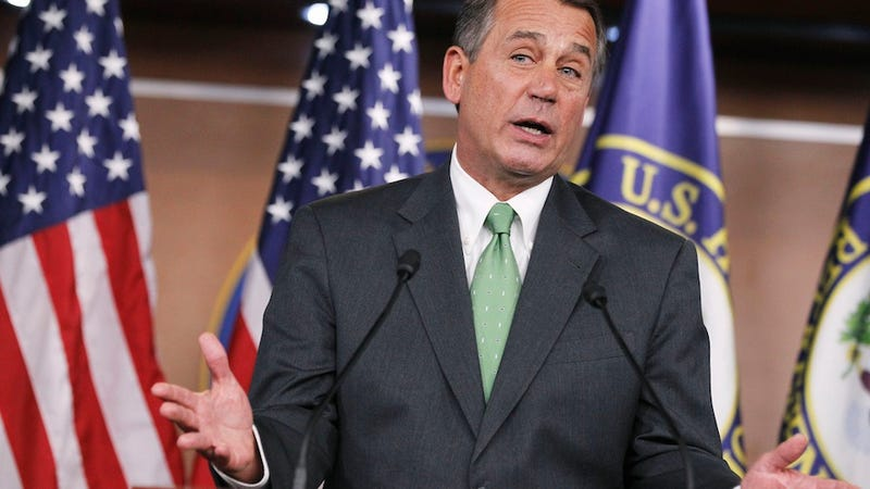 Boehner Stands Strong in Defense of Stupid People