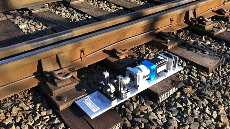 This Generator Steals Energy From Passing Trains