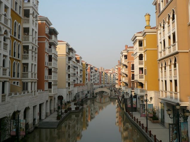 The Weird, Eerie World of China's Knockoff Cities