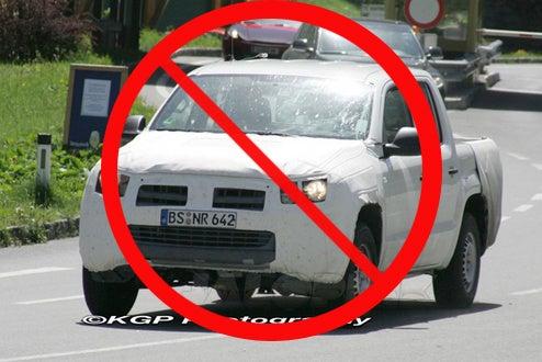 """Europe Denied 2010 VW """"Robust"""" Pickup, Heidi Klum Dismisses With Harsh """"Auf Wiedersehen"""""""