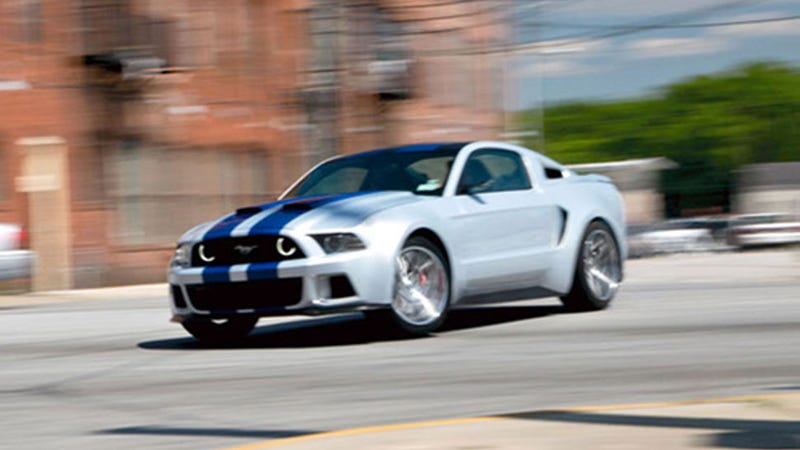 A Sneak Peek At The Custom Mustang That Will Star In Need For Speed