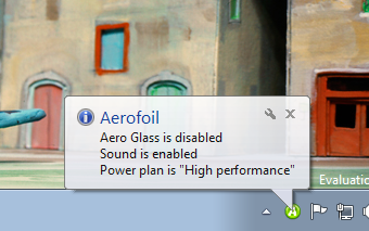 Aerofoil Keeps Your Laptop's Battery Alive