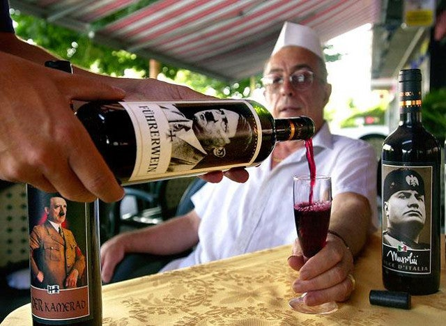 This Italian 'Adolf Hitler wine' has infuriated just about everybody