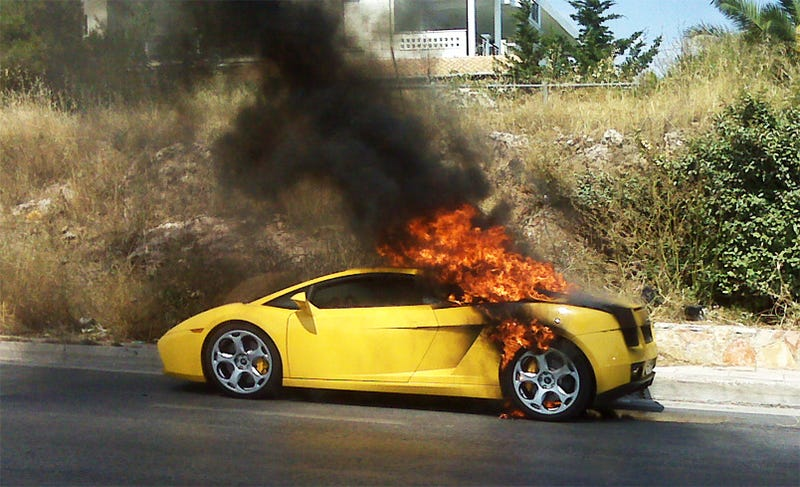 People, Burning Ferrari Jokes Aren't Funny Anymore