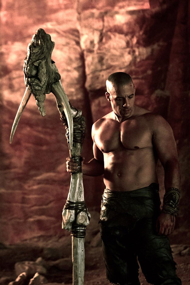Vin Diesel's Lastest Riddick Photo
