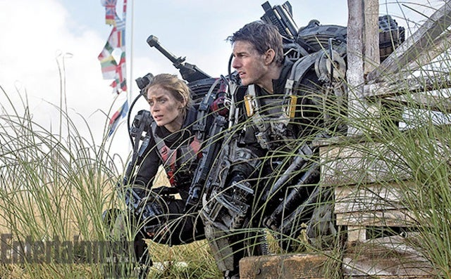 Tom Cruise and Emily Blunt don guns and armor for All You Need is Kill