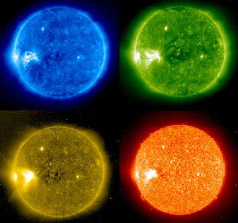UV Solar Images Are Pop Art Masterpiece