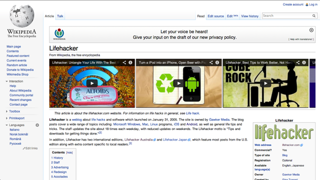 Wikitube Supplements Wikipedia Articles with YouTube Videos