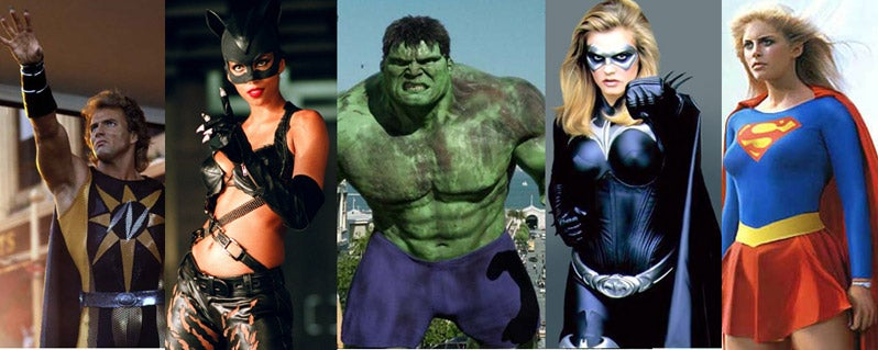 What's Really The Worst Superhero Movie Of All Time?