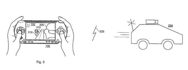 Sony's Patented PSP-Controlled Toy Car