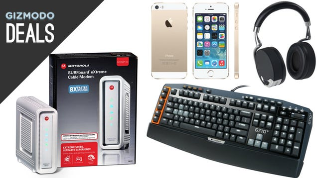 Your New Gaming Keyboard, Your Own Modem, Napoleon Dynamite [Deals]