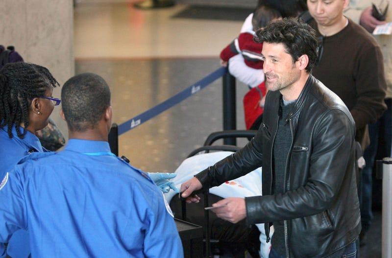 McDreamy Tries To Charm The TSA