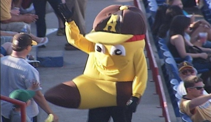 The Amarillo Sox Did Not Expect Their New Mascot To Have A Huge Erection