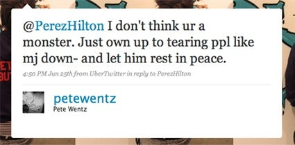 Perez Hilton Is Scared And On The Lam