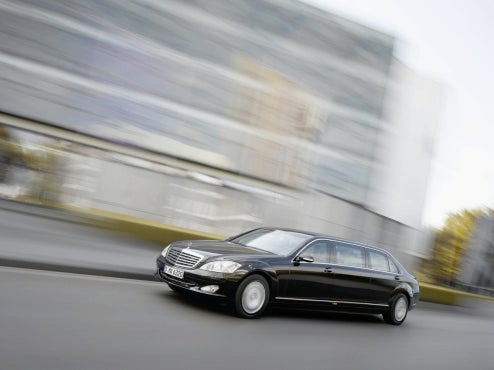 Mercedes Special-Protection Group Unveils Latest S600 Pullman Guard State Limo