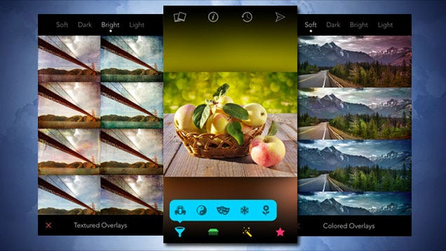 Filters for iPhone Adjusts Photos with Over 800 Different Tweaks