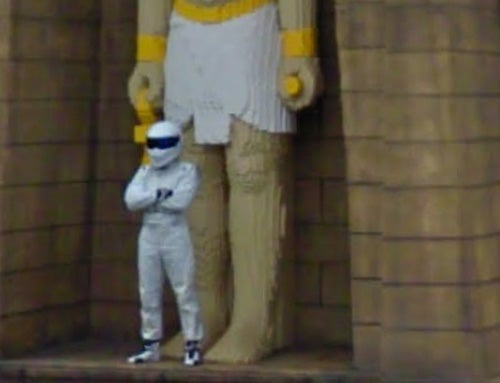 The Stig Caught By Google Street View... At LEGOLAND?