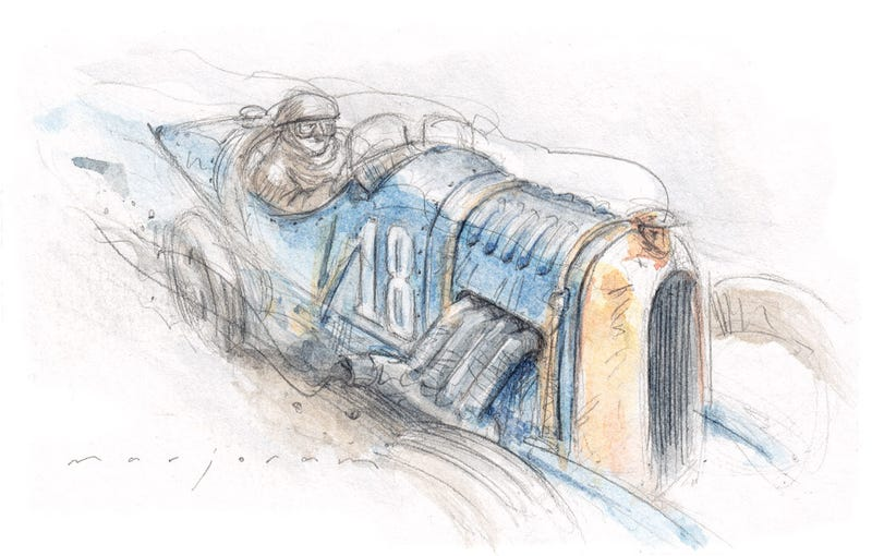 Art of the Bloodhound SSC and more from Stefan Marjoram