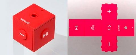 Mobiblu Nanum MP3 Player Converts From Cross to Cube