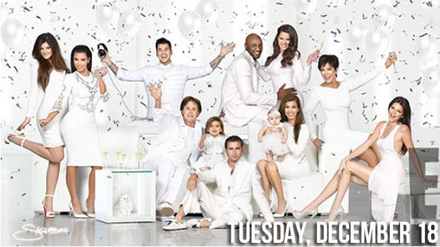The Kardashian Christmas Card Looks Like a Tampon Ad