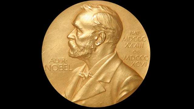 Melting down Nobel Prizes to buy bullets and dissolving the awards to fool Nazis