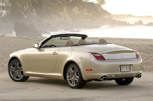 Toyota Cancels 2011 Lexus SC, Considers Ditching 2011 Avalon Too