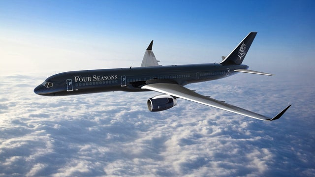 The Four Seasons Jet Is The Luxury Hotel Of The Skies
