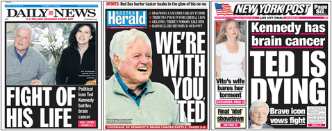 Ted Kennedy: The Tabloids Respond