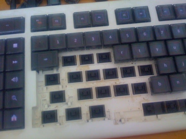 Optimus Maximus Keyboard Gets Coffee Bath, Apparently Survives