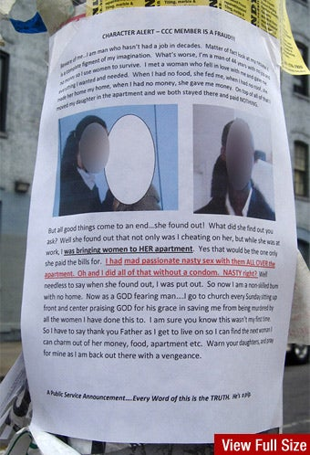 Brooklyn's Poster-Campaigning Spurned Lover Speaks