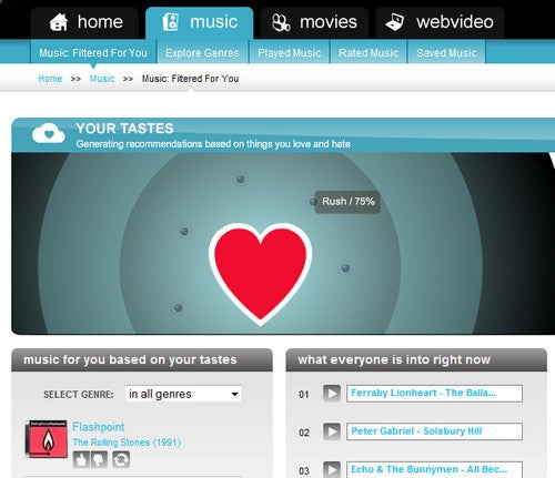 TheFilter Recommends Music, Movies, and Web-Based Video