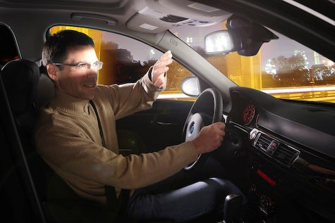 TÜV: 9.2 Percent of British Drivers Wear Sunglasses To Block Glare At Night